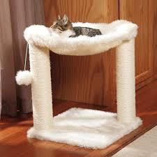 trixie baza scratching post cat hammock cat furniture