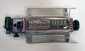 lowel tota light t1 10 used lowel tota light kaye lites inc