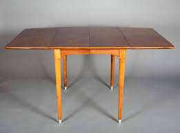 Rectangular Drop Leaf Dining Table 1960 S Vintage Modern Mid Century Teak Walnut