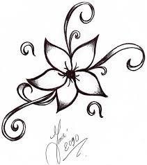 Flower Drawings Black And White - best 25 flower tattoo designs ideas on pinterest forearm flower