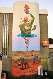 873 best poor man s canvas images on pinterest urban art street street wall graphic art l arte grafica sui muri street art come