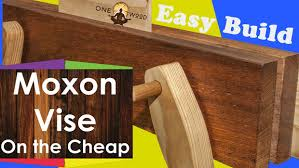moxon vise woodworking project with video tutorial beginners project