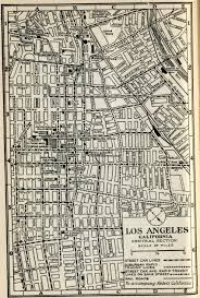 Map Of Downtown Los Angeles by Citydig Bright Lights Big Theatres Los Angeles Magazine