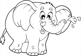 Coloriage Elephant  Les beaux dessins de Animaux à imprimer et colorier