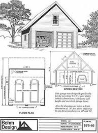 Victorian Garage Plans Two Car Garage With Loft Plan 856 1 By Behm Design Garden Sheds