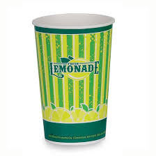 disposable cups gold medal 5304 16 oz lemonade special print disposable cups