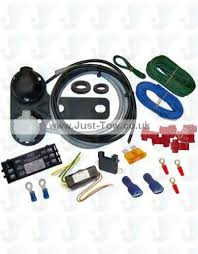 universal twin 12n s towbar electric wiring kit