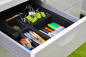 Organizing Desk Drawers Tips To Efficiently Organize Your Desk Drawers Apartment Therapy