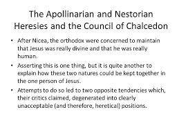 Council Of Chalcedon Teachings The Early Church Councils Christological Controversy And