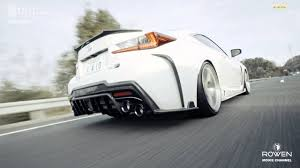 lexus rcf lowered lexus rc f pv by world platinum produced by rowen japan youtube