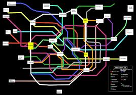 Tokyo Metro Map File Tokyo Subway Map Black Png Wikimedia Commons