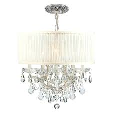 drum light chandelier drum crystal chandelier u2013 engageri