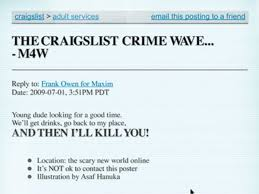 Why Am I Getting Flagged On Craigslist The Craigslist Crime Wave Maxim