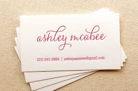 Event Business Cards Letterpress Printed Business Cards Dinglewood Design U0026 Press