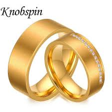 aliexpress buy 2017 wedding band for men 316l 2017 high quality gold color 316l stainless steel rings