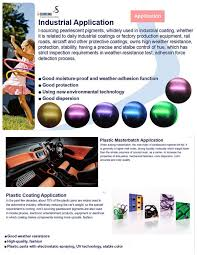 color changing beautiful chameleon pigment pearl for car paint