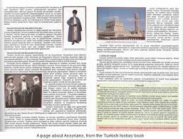 high school history book turkish high school history book portrays assyrians as traitors