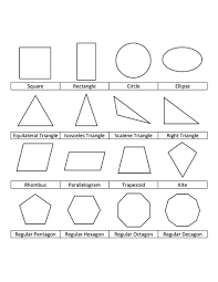 preschool shapes coloring page basic shapes coloring pages