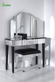 Mirrored Bedroom Furniture Uk by Simple Design Silver Bedroom Glass Mirror Furniture Dressing Table