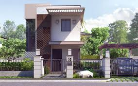 Small Two Story House Two Story Small House Design Homepeek