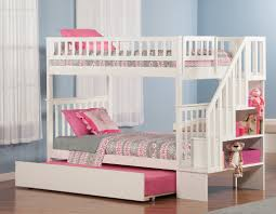 Bunk Beds  Twin Over Twin Bunk Bed With Trundle Full Over Queen - Full over full bunk bed plans