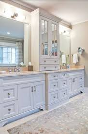 Custom Bathroom Vanity Ideas Gorgeous Vanity With Center Tower For Storage By