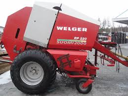 welger rp 220 hay and forage machines 2000 nettikone