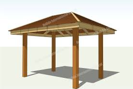 free gazebo plans 14 wooden kits pinterest pleasing 12 foot