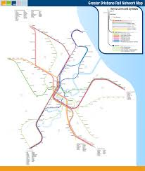 Where I Ve Been Map Submission Fantasy Map Greater Brisbane Rail Transit Maps