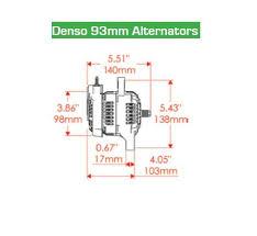 powermaster 8162 50 amp mini racing alternator
