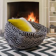 Zig Zag Floor L Furniture Cool Ideas Of Cocoon Chair Deswie Home Design