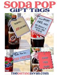 soda pop gift tags easy gift and employee appreciation