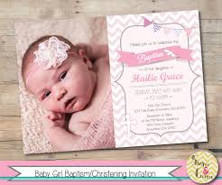 Hello Kitty Invitation Card Maker Free Baptism Invitation Christening Invite Personalized