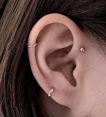 ear hoop serendipity in seoul small hoop earring silver the armoury
