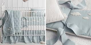 Cloud Crib Bedding Bouclé Cloud Nursery Bedding Collection Rh Baby Child