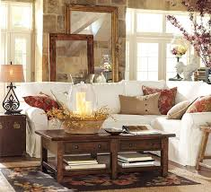 luxurious pottery barn living room to support the conversation