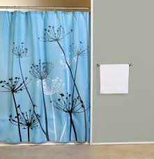 Gray Fabric Shower Curtain Thistle Gray Blue Fabric Shower Curtain Curtain U0026 Bath Outlet