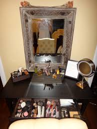 Makeup Vanity Tray Writing Desk From Ikea Converted Into A Vanity Trays From Target