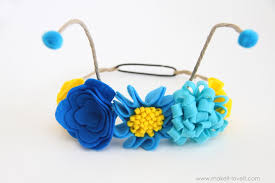 butterfly antennae headband flower antennae headband for the butterfly costume make it