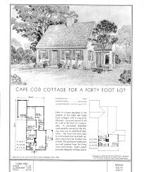 Colonial Revival House Plans Crafty Ideas Cape Cod House Plans 1940s 1 Colonial Revival On