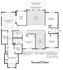 2nd Floor Plan Design Lenah Mill The Executives The Duke Home Design