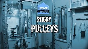 fixing sticky power rack pulley systems youtube