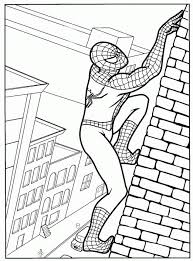 coloring spiderman coloring pages 48