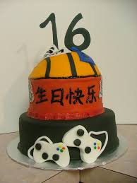 even boys have a sweet u201c16 u201d moments in cake