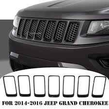 jeep grand cherokee front grill for 2014 2016 jeep grand cherokee front grille grill vent hole