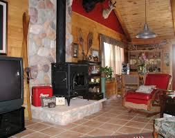 interior cozy country living room interior ideas with fireplace