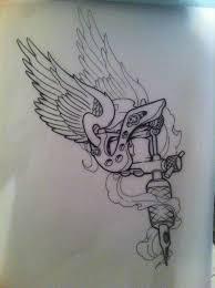 tattoo gun sketch tattoo gun by 5stardesigns on deviantart