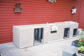 kitchen plain outdoor kitchen steel frame kit in diy kits design