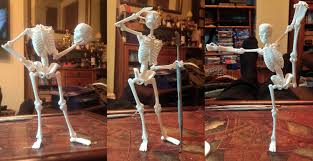 poseable skeleton holy theatrical skeletons batman shapeways 3d