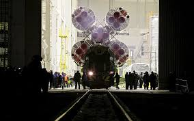 video soyuz rocket that will launch tim peake into space is
